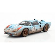 Ford GT40 MK II  LeMans 1966 (Miles, Hulme) 1:18