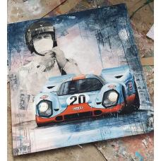 PORSCHE 917 -GULF - STEVE MCQUEEN 1/25