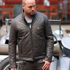 GULF Monza zimní kožená bunda