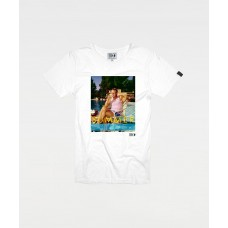 STEVE MCQUEEN TANKPINK WHITE - LIMITED