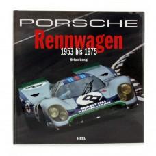 Kniha Porsche Rennwagen - 1953 bis 1975 von Brian Long