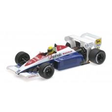Ayrton Senna Toleman TG184 1984 1:18 Minichamps