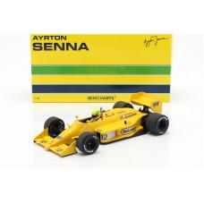 Ayrton Senna Lotus 99T #12 Winner monaco GP formula 1 1987