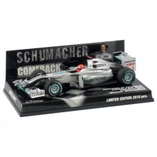 "Michael Schumacher Mercedes GP Petronas Showcar 2010 ""Comeback"""
