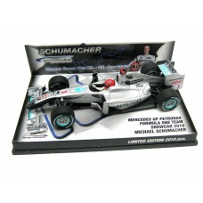 Michael Schumacher Mercedes GP Petronas Showcar 1:43