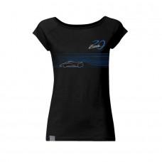 Pagani – 20th Anniversary Zonda – Dámské tričko černé