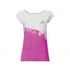 Pagani – 20th Anniversary Zonda – Dámské tričko růžovo-bílé