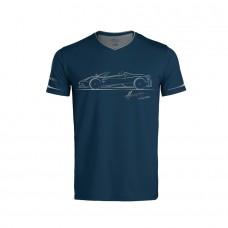 Pagani – Huayra Roadster – Tričko tmavě modré