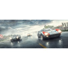 Fords And The Furious - Artwork 24 Hours Le Mans, France 1/150