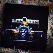 AYRTON SENNA WILLIAMS 1/25