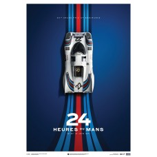Porsche 917 - Martini - Limited Edition Poster