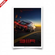 PORSCHE 911R Pozlacená limitovaná série