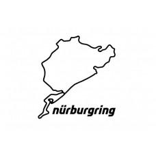 OBŘÍ SAMOLEPKA NÜRBURGRING