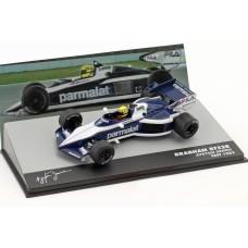 Ayrton Senna Brabham BT52B 1/43