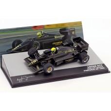 Ayrton Senna Lotus 97T Portugal 1985 1/43