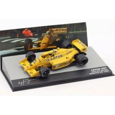 Ayrton Senna Lotus 99T 1/43