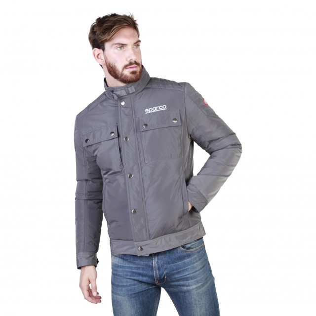 Zimní bunda Sparco Berwick šedá