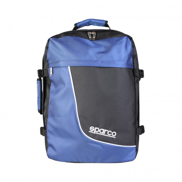 Velký cestovní batoh Sparco R8 Blue