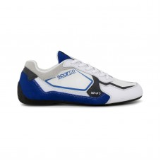 Sparco SP-F7 bílá/modrá
