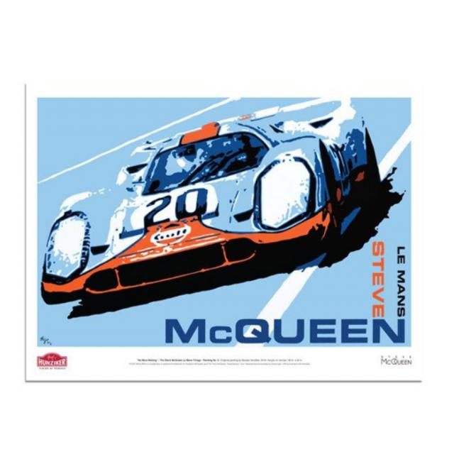 """Steve McQueen Le Mans Trilogy """"No More Waiting"""""""