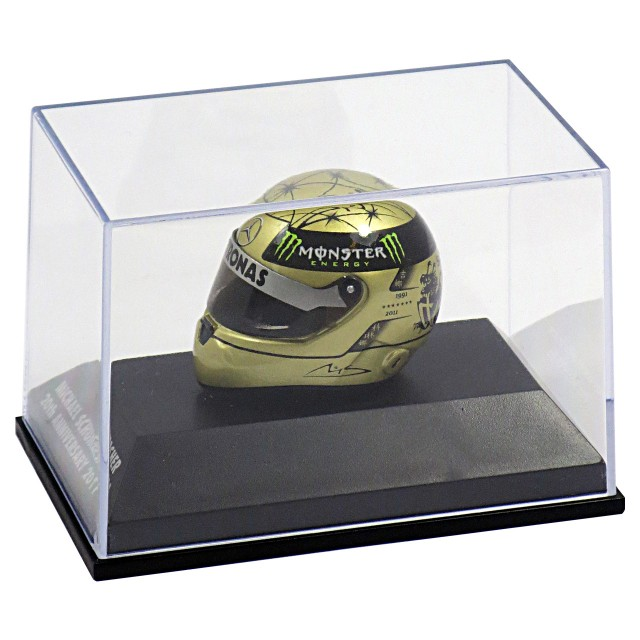 Michael Schumacher replica Helmet 20th Anniversary 1:8