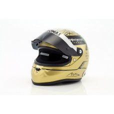 "MICHAEL SCHUMACHER ""Spa 2011"" gold helma 1:2"
