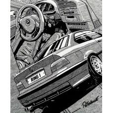 TRIČKO BMW E36 M3