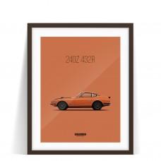 PRINT DATSUN 240Z 432R