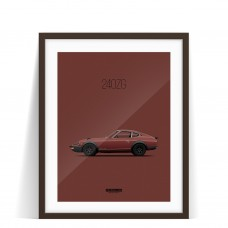 PRINT DATSUN 240Z ZG