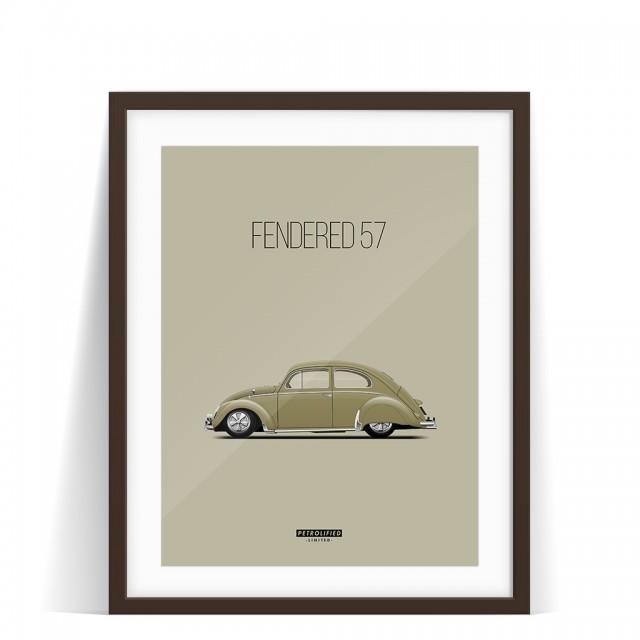 PRINT FENDERED 57