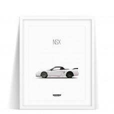 PRINT HONDA NSX