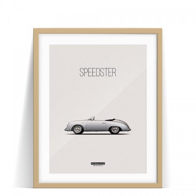 Print Porsche 356 Speedster