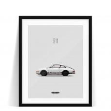 Print Porsche 911