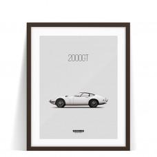 Print Toyota 2000GT
