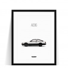 Print Toyota AE86