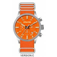"Vintage Driver Chrono ""Orange"""