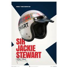 Sir Jackie Stewart Helmet - 1969