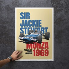 Matra MS80 - Sir Jackie Stewart - Monza Victory