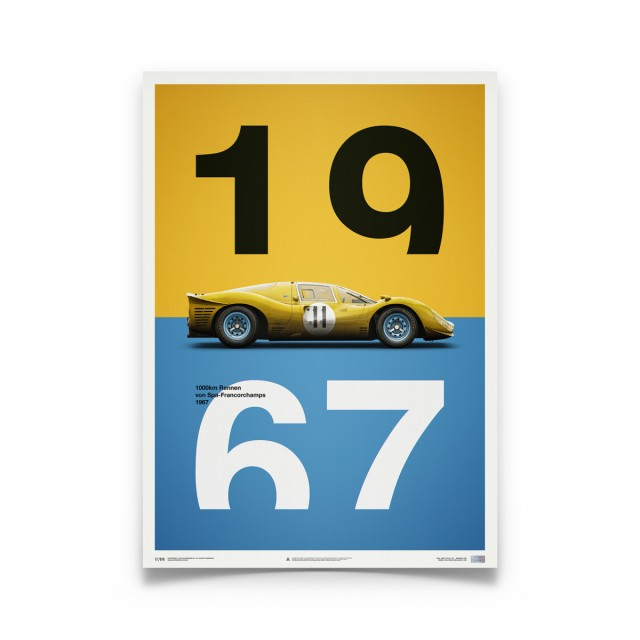 Ferrari 412P Spa 1967