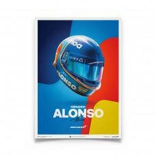 McLaren Fernando Alonso Helmet 2018