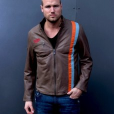 Pánská kožená bunda Heuer