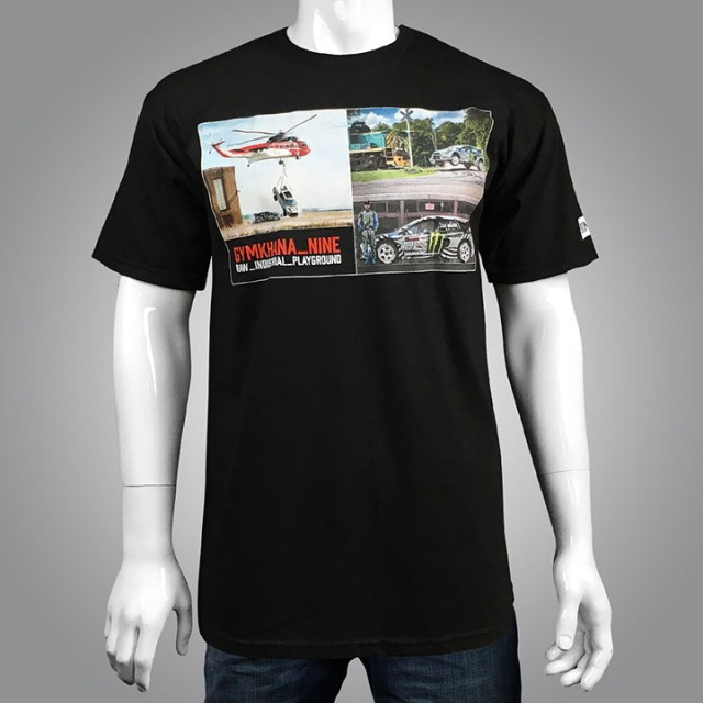 TRIČKO GYMKHANA NINE PHOTO TEE