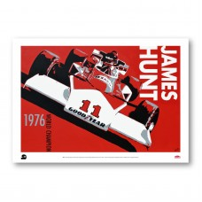 PLAKÁT  JAMES HUNT M23