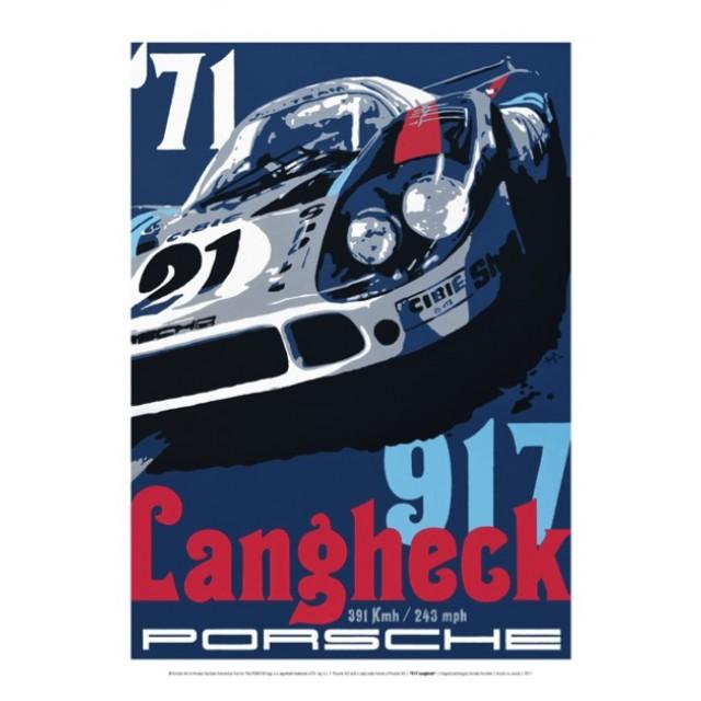 PLAKÁT PORSCHE 917