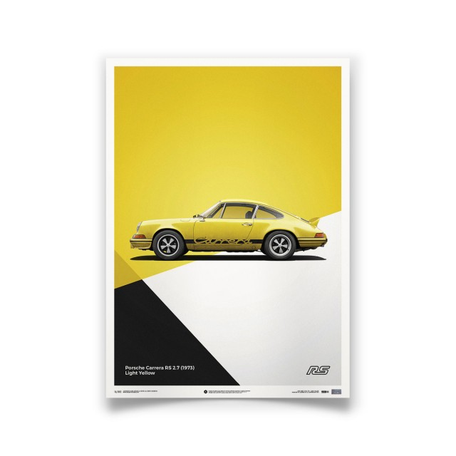 PORSCHE 911 CARRERA RS YELLOW