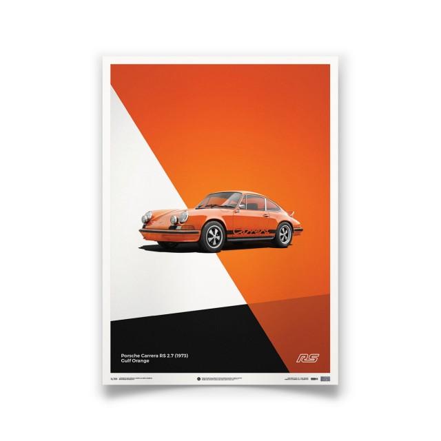 PORSCHE 911 CARRERA RS ORANGE