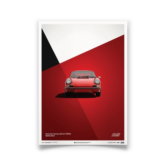PORSCHE 911 CARRERA RS RED