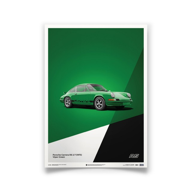 PORSCHE 911 CARRERA RS GREEN