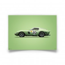 COLOURS OF SPEED - GREEN FERRARI