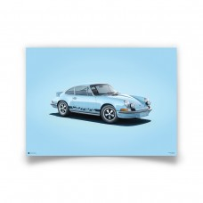 COLOURS OF SPEED - 911 RS BLUE
